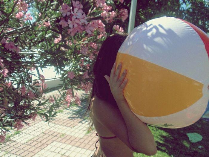 Beautiful Colors Summer Girl Balloon