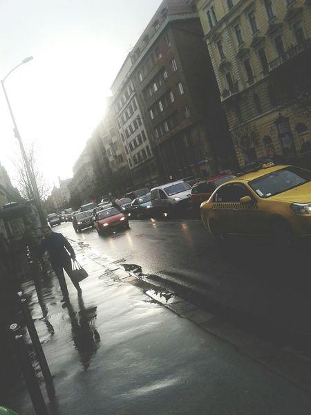 Taking Photos Budapest Rany Day