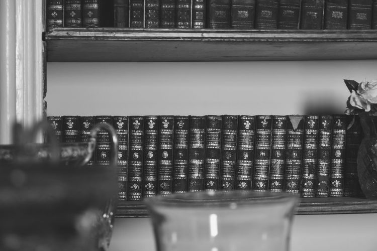 Volumes. No People Books Bookshelf Library Volumes Study Blackandwhite Black And White Monochrome Depth Of Field Book Books Shelf Dof EyeEm Best Shots EyeEmNewHere