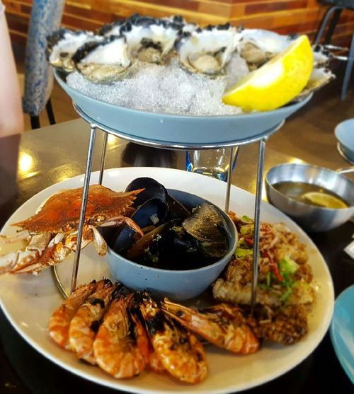 Food And Drink Freshness Food Indoors  Plate Close-up No People Healthy Eating Ready-to-eat Day Seafoodplatter Seafood Lovers Happiness