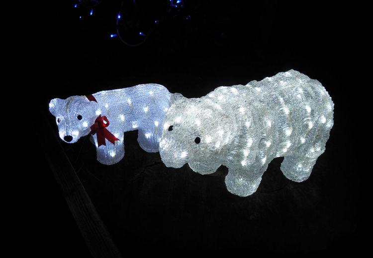 Christmas tale,Cazma,Salaj,Croatia,Europe,1 Bears Black Background Čazma Craftmanship Eu Europe Illuminated Light No People Salaj Sculptures