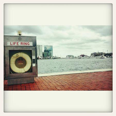 InnerHarbor Baltimore Harbor Lifering