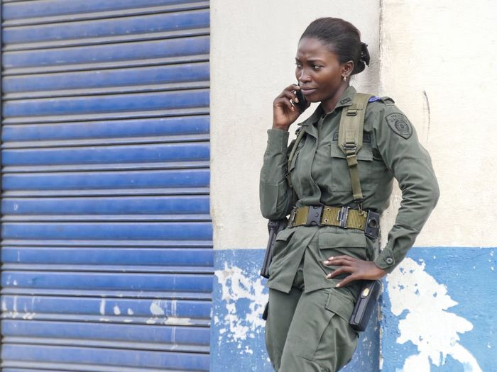 Nuquí Choco Colombia South America Woman Female Soldier Soldier Standing Telephone Calling Mobile Phone Uniform One Person Camouflage Clothing Adult People Watching People Wireless Technology Street Photography Outdoors Women Travel Portrait Traveling Uniqueness Women Around The World The Street Photographer - 2017 EyeEm Awards The Photojournalist - 2017 EyeEm Awards The Portraitist - 2017 EyeEm Awards Investing In Quality Of Life This Is Latin America