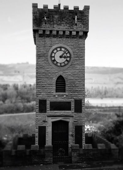 Black And White Friday History War Memorial Clock Tower Stocksbridge Black And White Friday The Architect - 2018 EyeEm Awards