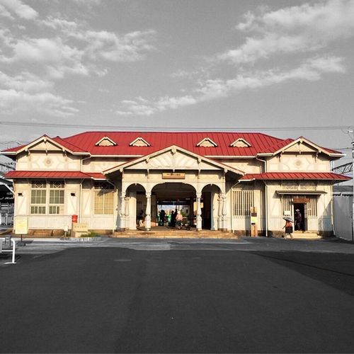 Station Nostalgia レトロ 駅舎 登録有形文化財 浜寺公園駅 浜寺公園
