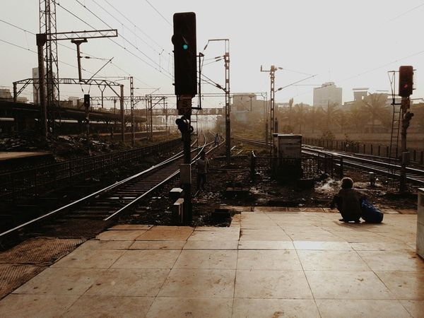 On The Journey Called Life. Life Railway Morning Photgraphy India World Mumbai Mumbailocal Mumbaimerijaan