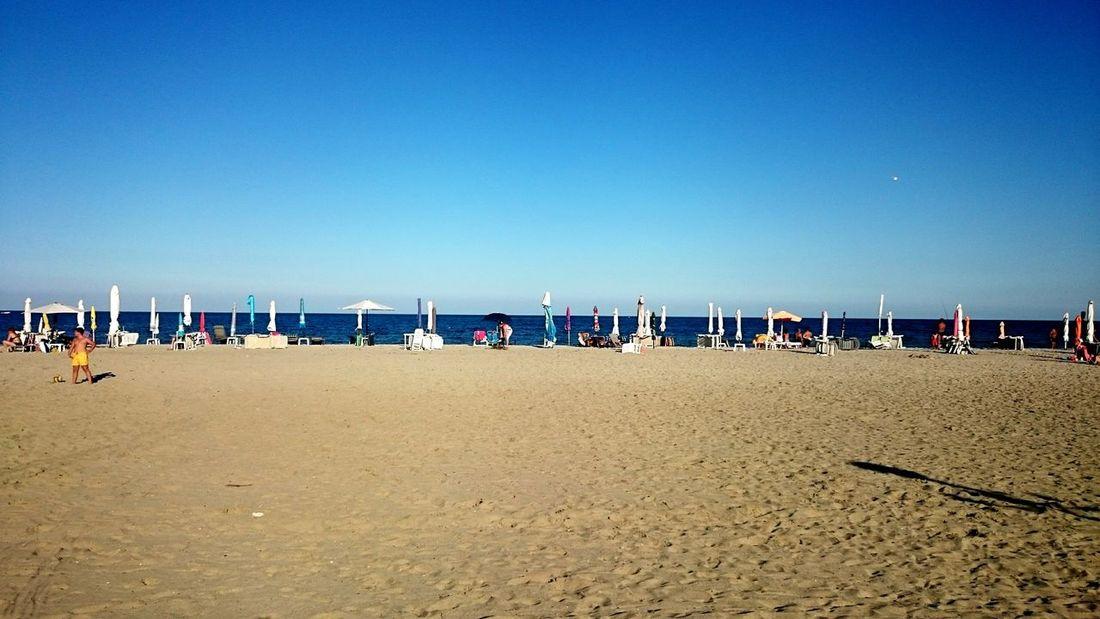 Greece Coast Sand Beach Sea South Mediterranean Sea Mediterran Paralia