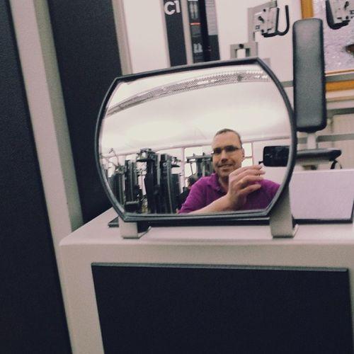 Saturday afternoon workout Fitness Gym Kieser Krafttraining healthy gesund sport sports me selfie reflection reflexion mirror spiegel