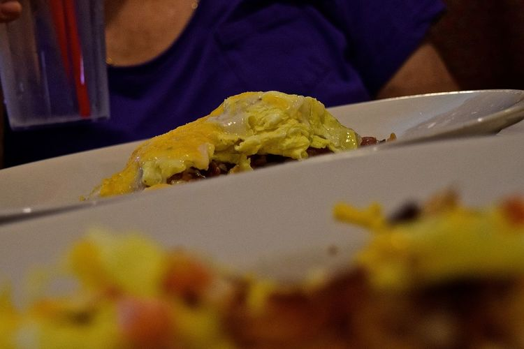 My Favorite Breakfast Moment #breakfast Breakfast Close-up Indulgence My Favorite Breakfast Moment Ready-to-eat Scrambled Eggs Scrambledeggs Still Life Maximum Closeness