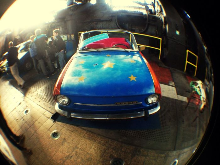 One nice old car :)) Old Car Museum Great Views Seeing Stars