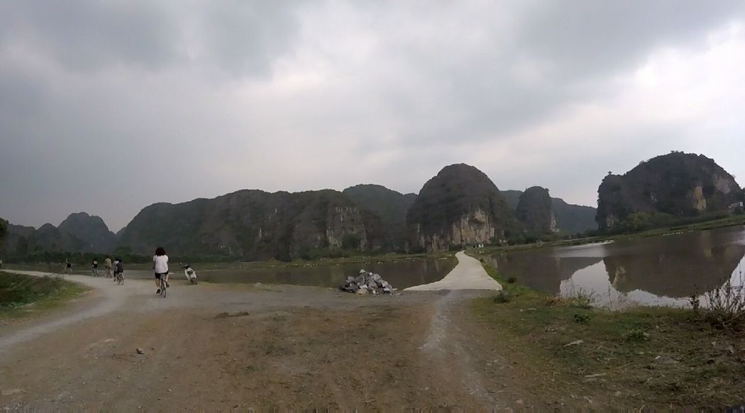 Vietnam Mountain Landscape Mountain Range Outdoors Cloud - Sky Nature Discover  Beutiful  Beuty Of Nature Greenery ASIA Goprophotography Gopro Shots Goprohero Vietnam Day Water Vacations Leisure Activity Travel Green Water Tourism Tam CocTam Coc Tours No Filter Miles Away
