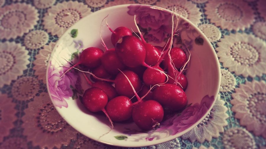Radish. Sweet Food Food And Drink Red Dessert Fruit Indoors  No People High Angle View Food Close-up Freshness Frozen Food Day Ready-to-eat Food Stories The Still Life Photographer - 2018 EyeEm Awards