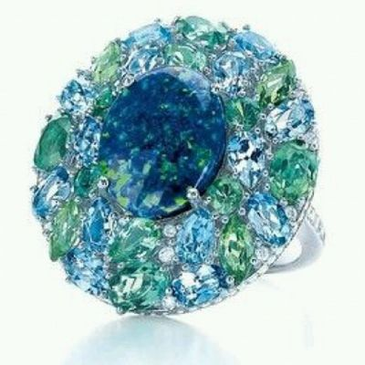 Bu gece de mavi olsun...Iyigeceler Stunning Black Opal Ring from the 2014 @tiffanyandco Blue Book Collection .Jewelblog Tiffanyco Jewellery Jewelry Jewelrylovers Jewelleryaddict Instablogger Jewelryswag Jewelryblogger Fashioninsta Fashion Amazing Design Blogger Luxury