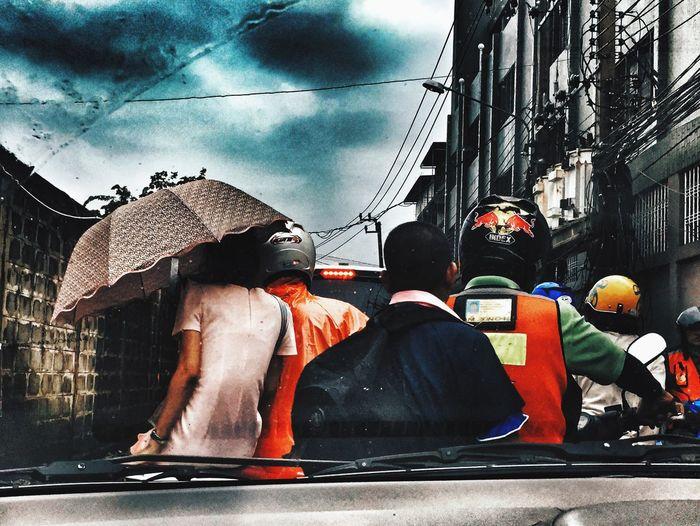 On The Road BKK Bkk Traffic Thailand Bkk Thailand Omg Morning Rain Rainy Days