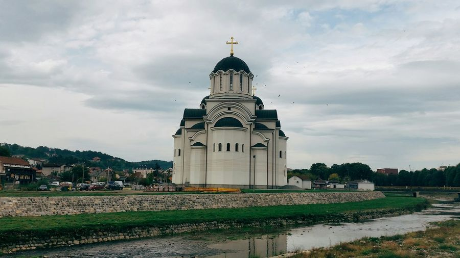 Church Valjevo Vscocam River Kolubara Autumn Autumn Colors Friday
