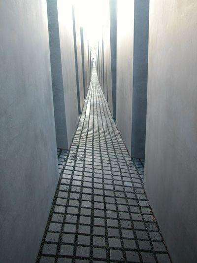 Architecture Built Structure Day Holocaust Memorial Labyrinth No People Outdoors Pattern The Way Forward