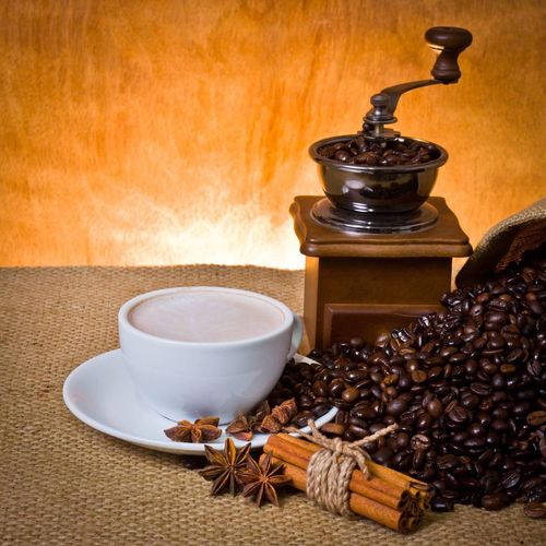Coffee set Roasted Coffee Bean Food And Drink Indoors  Coffee - Drink Spice Table Star Anise No People Food Freshness Coffee Bean Close-up Anise