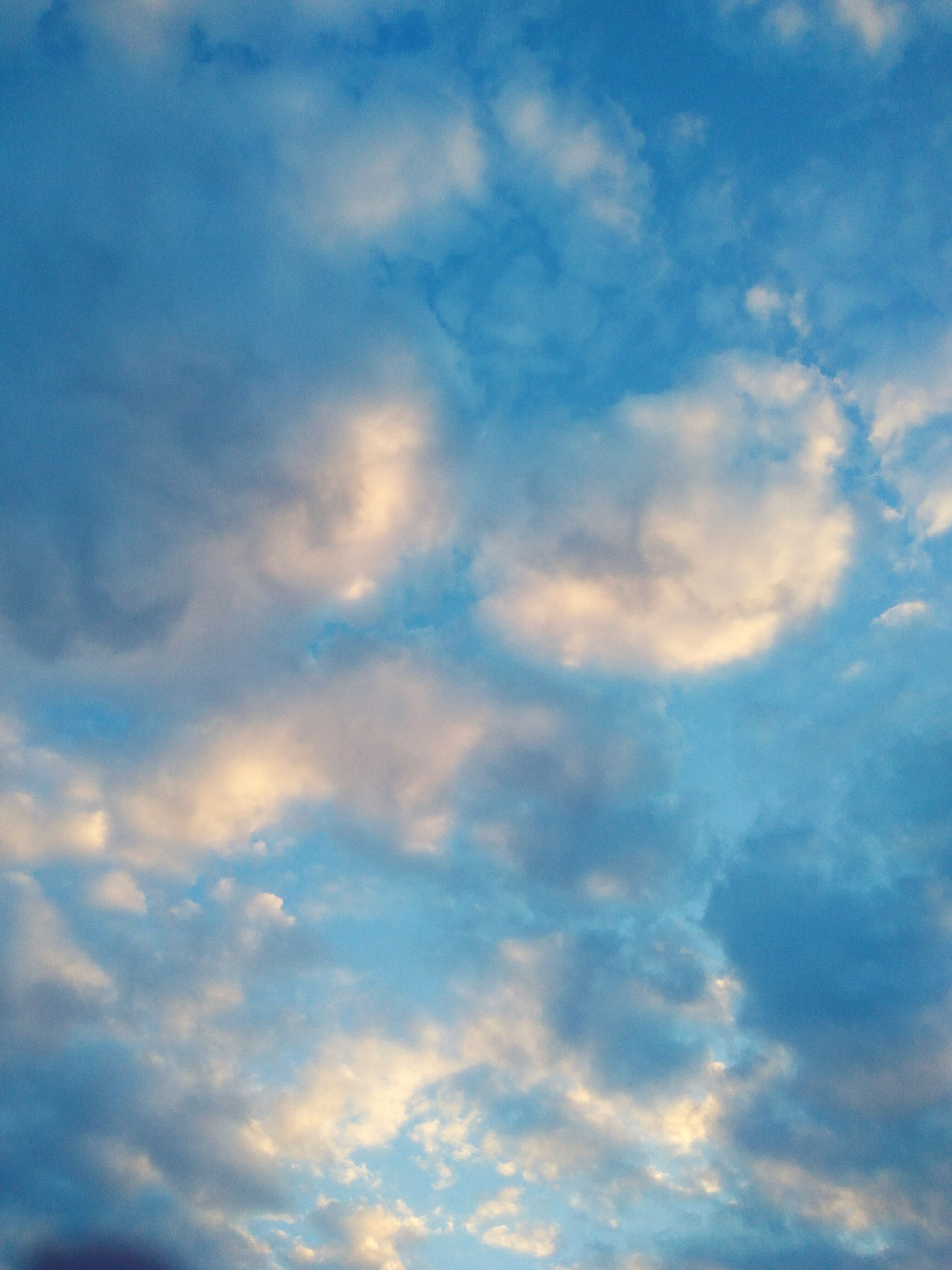 sky, cloud - sky, blue, nature, backgrounds, low angle view, beauty in nature, no people, tranquility, full frame, heaven, scenics, outdoors, sky only, day, close-up
