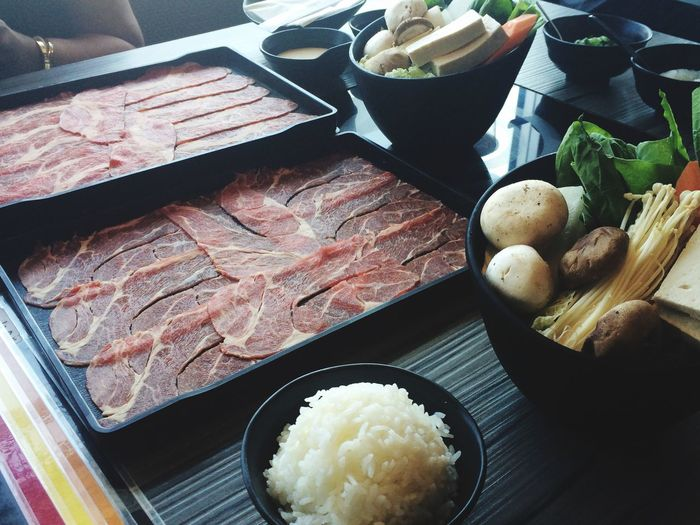 Prepping for our Shabu-shabu Japanese Food Time To Eat Lunch EyeEm Food Lovers