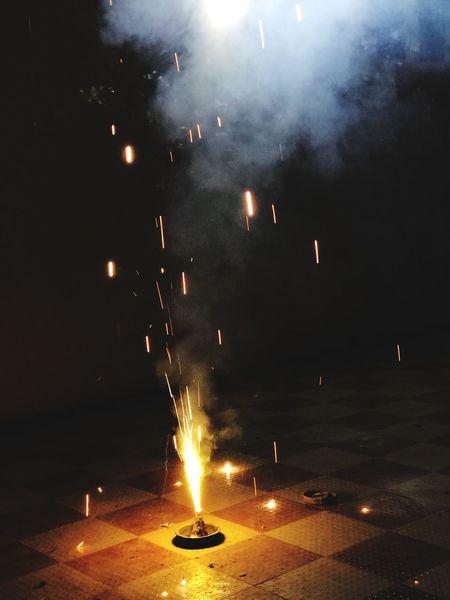 Burning Night Flame Celebration Illuminated Firework - Man Made Object Firework Display Firework Diwali Outdoors Motion Sky No People