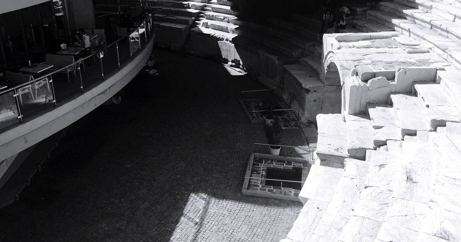 Gladiator stadium below the pavements of Plovdiv Iphone 6