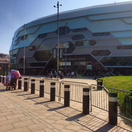 Fd Arena in the Sunshine Leeds West Yorkshire