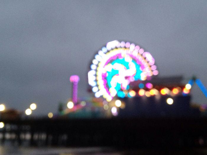 Santa Monica Pier Keep It Blurry