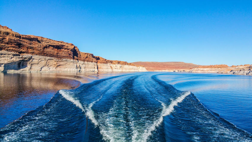 Lakepowell USA Summer2016 Beauty In Nature Amazing View Wallpaper Lake Outdoors Water Reflection Refraction Beauty In Nature Blue Waves Lightroom VSCO Vscocam Vscophile Happytraveller Travel Destinations Explore The World EyeEmNewHere FirstEyeEmPic Wonderland