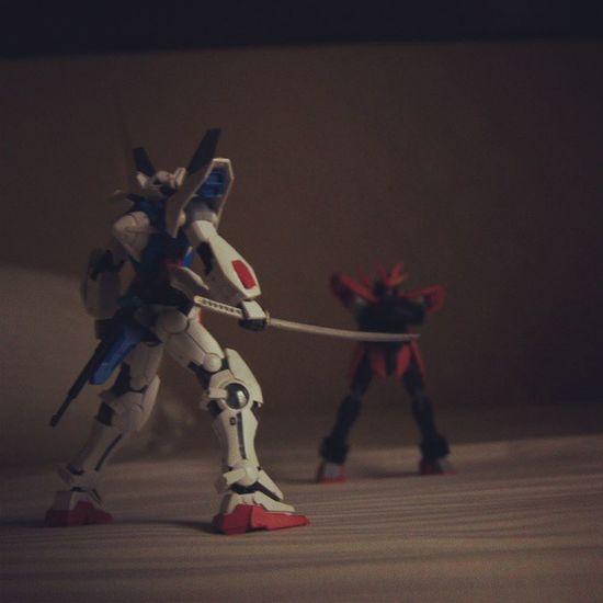 Azure Gundam VS Hatred Gundam Gundam Mygundam Gundamdesign