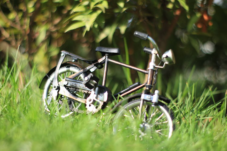 Aceh INDONESIA Grass Selective Focus Plant Day Transportation Field No People Green Color Nature Bicycle Land Mode Of Transportation Land Vehicle Outdoors Growth Metal Stationary Close-up Technology Sunlight Wheel