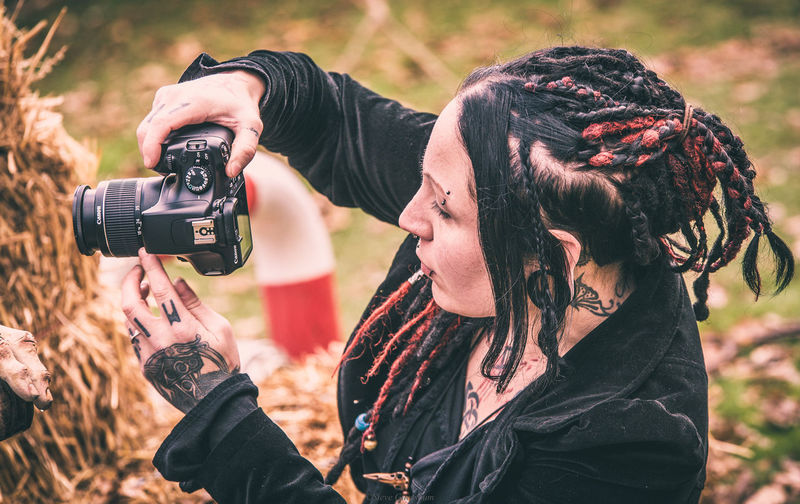 Castlefest winter 2017 EyeEm Best Shots EyeEmNewHere Eye4photography  EyeEm Gallery EyeEm Selects EyeEm EyeEmBestPics Camera - Photographic Equipment Photography Themes Photographer Adult Photographing Old-fashioned Outdoors