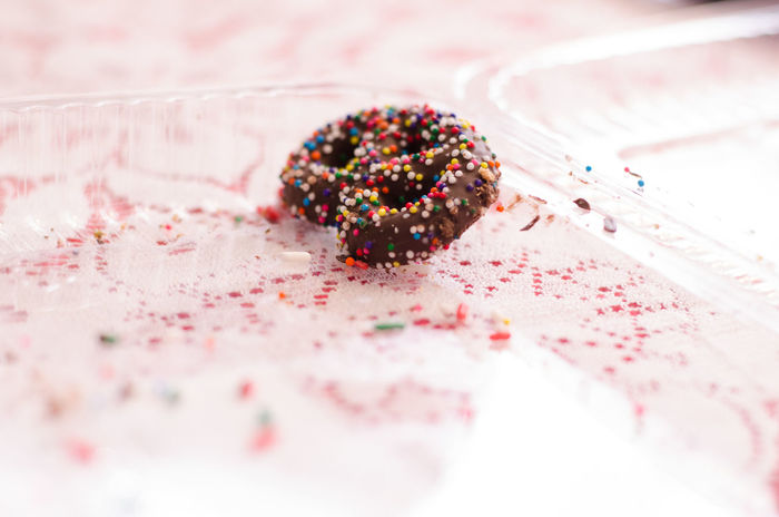 Chocolate Covered Christmas Christmas Cookies Close-up Cookie Food Food And Drink Indulgence Simplicity Single Object Sprinkles Still Life Sweet Food Table Temptation White Background Baking The Culture Of The Holidays