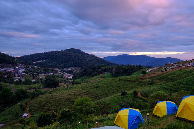 Camping at Mon