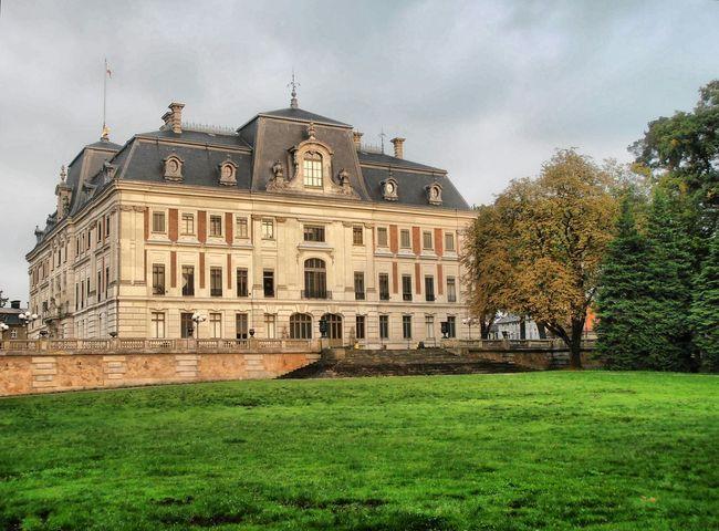 History Castle Pszczyna HDR