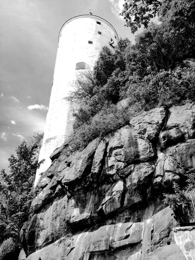 Blackandwhite Black & White Turm Unforgettable ♥ Unforgettable Moment Ruins Architecture Wall Wall - Building Feature Mauer Tree City Sky Close-up Architecture Historic