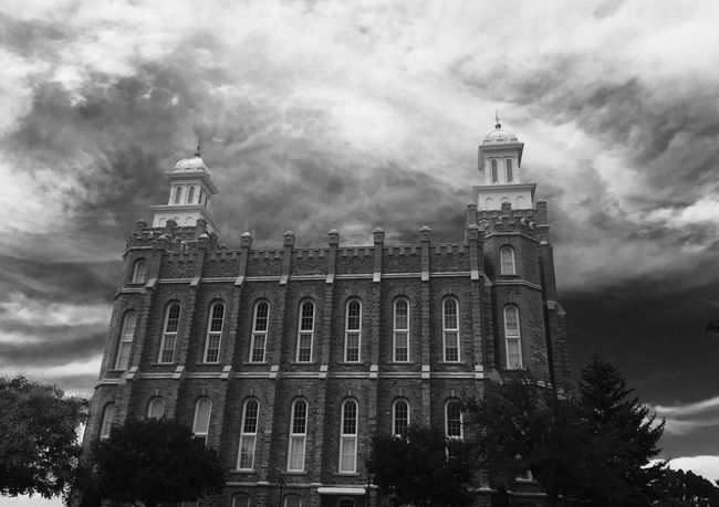Temple Lds Temples Building Clouds Blackandwhite EyeEmNewHere