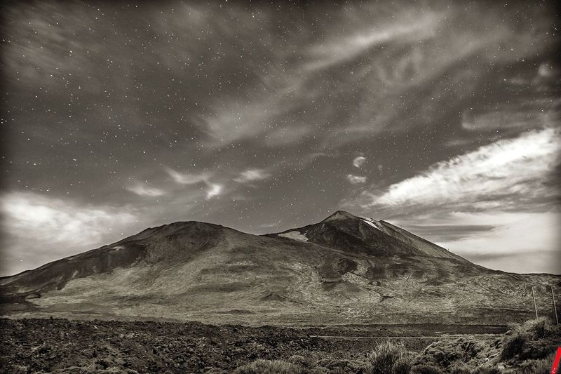 Sky Cloud - Sky Nature Tranquility Landscape Dabitz Photodeco Picoftheday Long Exposure Star - Space Stars Volcano Teide National Park Teide