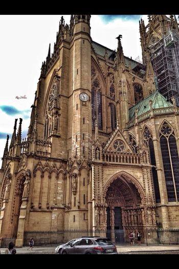 Кафедральный собор Святого Стефана. Metz