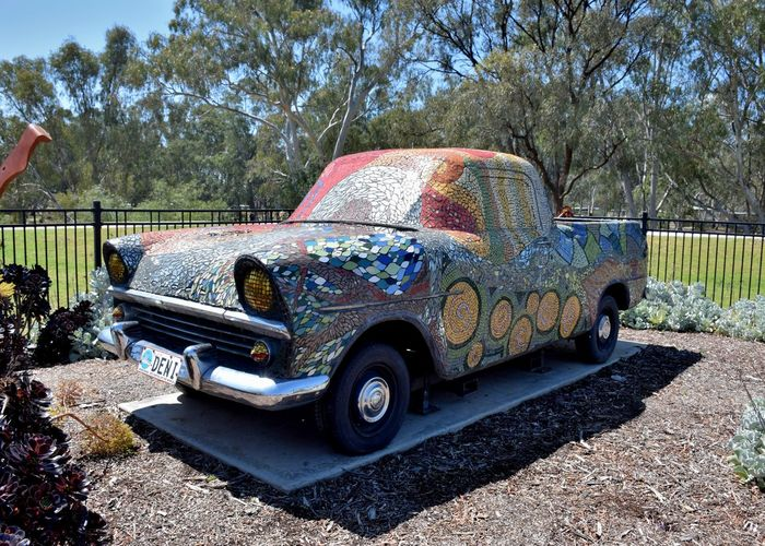 Give your car that special look ArtWork Car Land Vehicle Mode Of Transport Mosaic Outdoors Sculpture Transportation Wheel