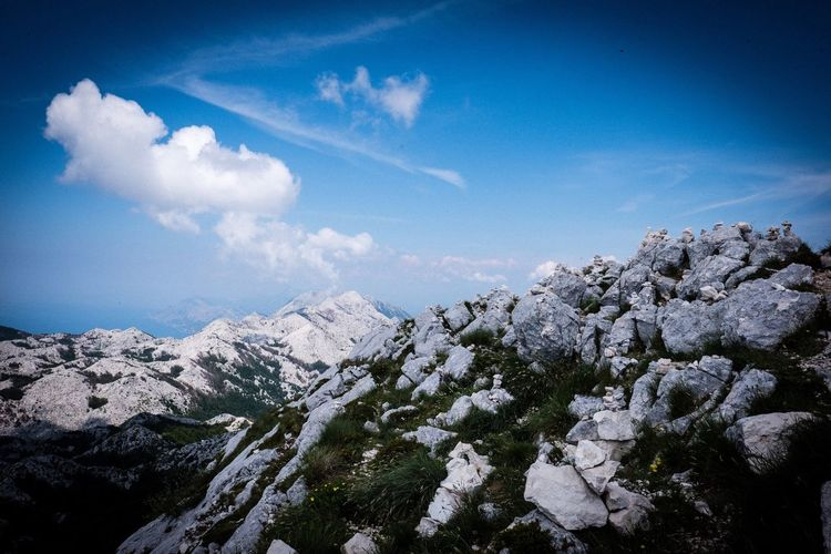 Sveti Jure Croatia Sveti Jure Sky Cloud - Sky Beauty In Nature Nature Plant Tranquility No People Scenics - Nature Mountain Outdoors Landscape