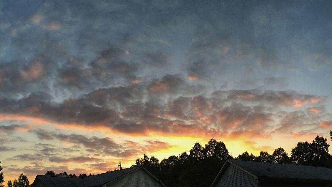 Sunset clouds this evening. EyeEm Best Shots - Sunsets + Sunrise Sunset #sun #clouds #skylovers #sky #nature #beautifulinnature #naturalbeauty #photography #landscape EyeEm Best Shots - HDR