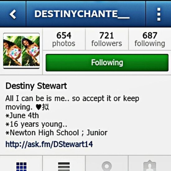 S/o to @destinychante__ for following me go follow her TeamFollowBack Likealways Tagsforlikes Mustfollow dope trill tbt instagram instalike