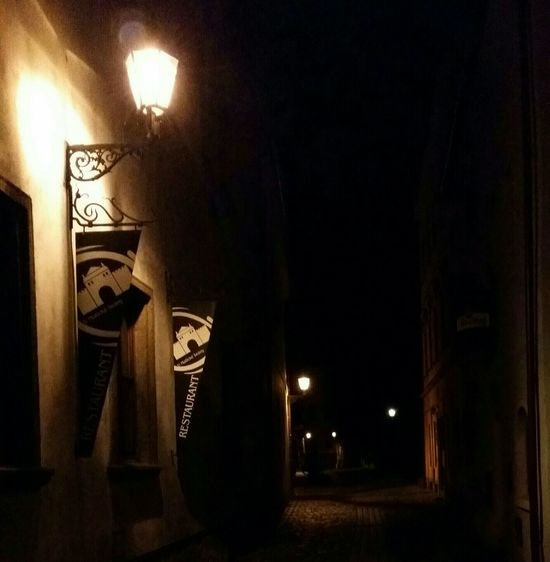 Pilsen Night Photo Mobile Photo