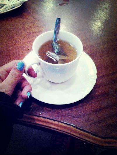 Green Tea Tea Time Nailpolish