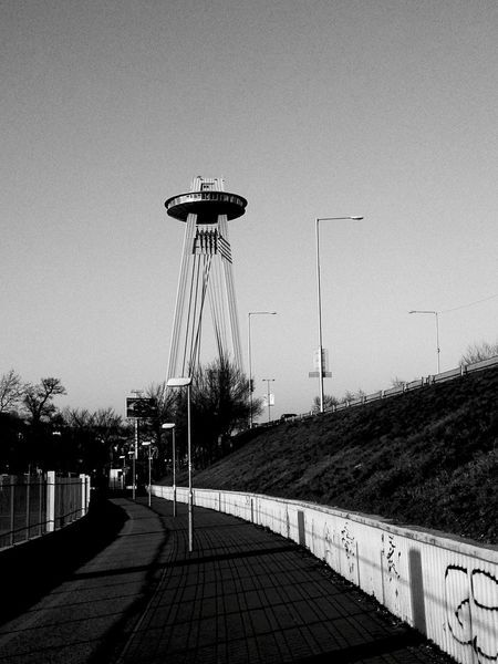 UFO Bridge Architecture_bw Architecture_collection Monochrome Eye4black&white  EyeEm Best Shots - Black + White Blackandwhite Photography Walking Around Bnw_friday_eyeemchallenge