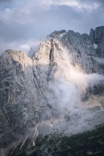 Check out my prints at https://simonmigaj.com/shop/ and visit my IG http://www.instagram.com/simonmigaj for more inspirational photography from around the world. Travel View Beautiful Italy Mountain Mountains Mood Moody Clouds Sky Peak Rock Slope Cloud Mountain Snow Sky Landscape Cloud - Sky Foggy Rocky Mountains Mountain Range