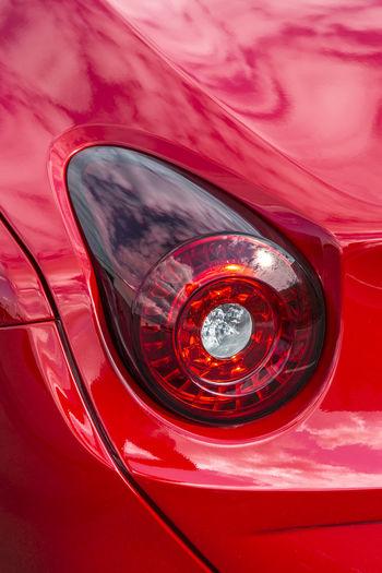 Convertible Car Detail Exterieur Ferrari California T HS Luxury Luxury Car Red Tail Lamp