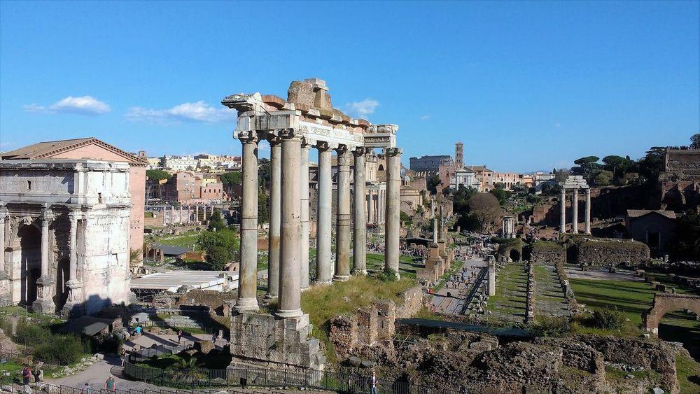 Ancient Archaeology Architecture Blue Sky Columns Forum Forum Romanum History Monument Museum Old Ruin Roman Forum Rome Ruins Temple Tourism Travel Destination Via Sacra Neighborhood Map