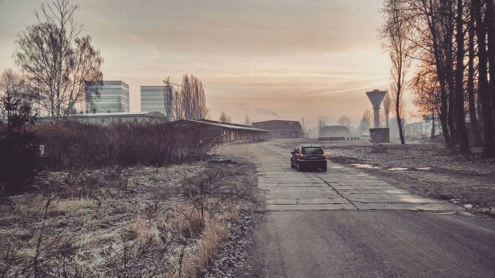 City Outdoors Cold Temperature Cityscape No People Sunrise Architecturelovers Enjoying The View Vscokato Kato  Katowice Office Building Industrial Landscapes Industrial Industrial Photography Bestphotos Photooftheday