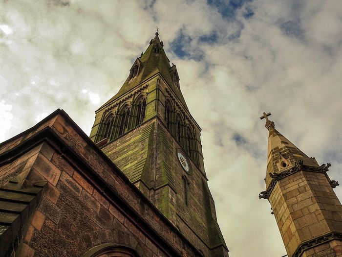 Archetecture Church History Landscape_photography Leicester Cathedral UK Low Angle View Olympus 17mm 2.8 Olympus Om-d E-m10 Perspective Place Of Worship Religion